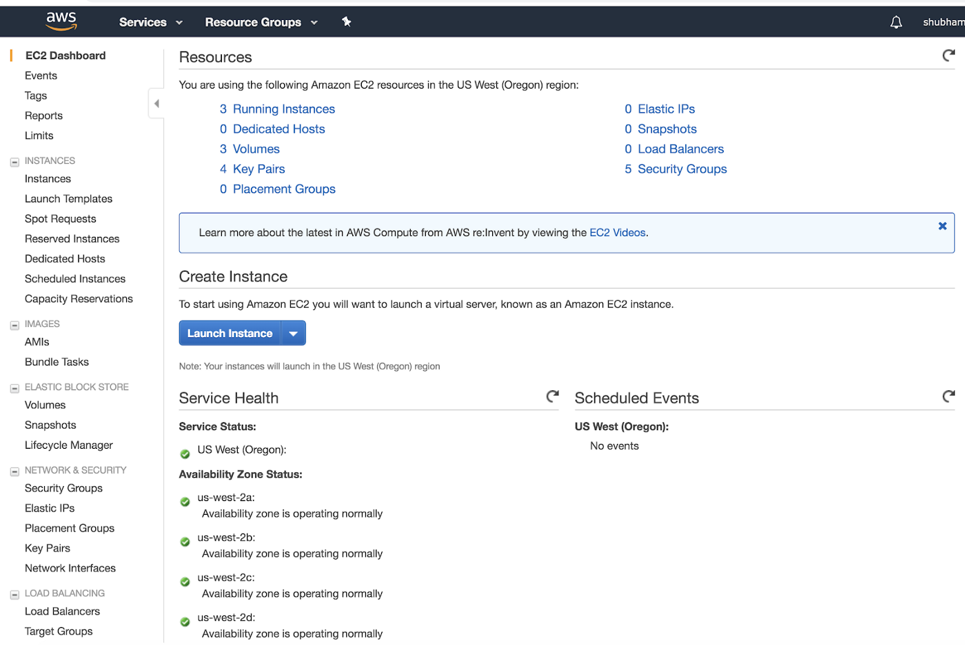 Create AWS EC2 Instance step by step